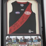 Bombers jersey framed